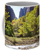Virgin River In Zion National Park Coffee Mug