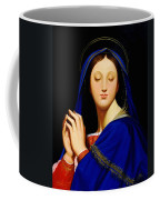 Virgin With The Host After Ingres Coffee Mug
