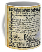 Virginia Banknote, 1781 Coffee Mug