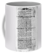 Virginia: Constitution Coffee Mug