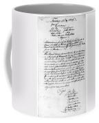 Virginia Council, 1778 Coffee Mug
