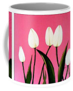 Visions Of Springtime - Abstract - Triptych Coffee Mug