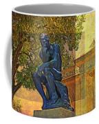 Visit To The Thinker Coffee Mug