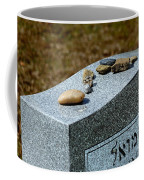 Visitation Stones On Jewish Grave Coffee Mug
