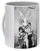 Visiting The Easter Bunny Coffee Mug
