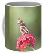 Visitor In The Garden Coffee Mug