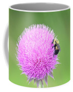 Visitor On Thistle Coffee Mug