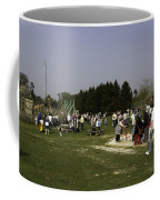 Visitors Having A Good Time At The Blair Drummond Safari Park Coffee Mug