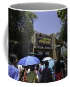 Visitors Thronging The Jurassic Park Rapids Adventure Ride Coffee Mug