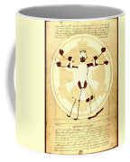 Vitruvian Stormtrooper Ghost Coffee Mug