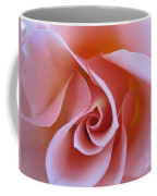 Vivacious Pink Rose Coffee Mug