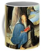 Vivarini's Saint Jerome Reading Coffee Mug