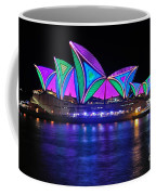 Vivid Sydney By Kaye Menner - Opera House... Patterns 2 Coffee Mug