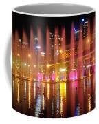 Vivid Sydney By Kaye Menner -  Vivid Aquatique  Coffee Mug