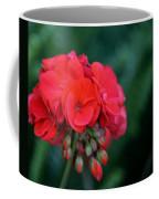 Vividly Red Geranium Coffee Mug