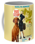Vizsla Art Canvas Print - Bus Stop Movie Poster Coffee Mug