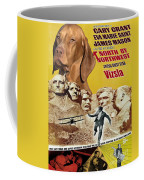 Vizsla Art Canvas Print - North By Northwest Movie Poster Coffee Mug
