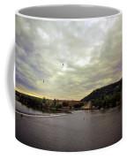 Vltava View Revisited - Prague Coffee Mug