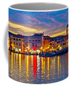 Vodice Waterfront Colorfu Evening Panorama Coffee Mug