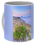Volcanic Desert At Sunset Coffee Mug