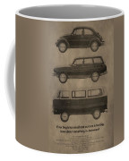 Volkswagen Advertisement Coffee Mug