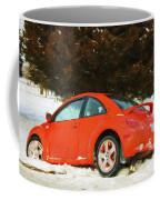 Volkswagen Snow Day Coffee Mug