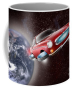 Volvo P1800 Goes Back To The Future Coffee Mug