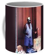 Voodoo Busker In New Orleans Coffee Mug