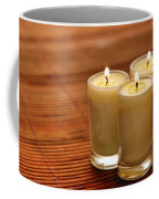 Votive Candle Burning Coffee Mug