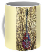 Vox Starstream Vi Guitar 1967 Coffee Mug
