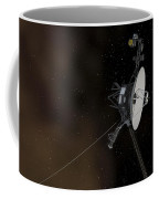 Voyager 1 Spacecraft Entering Coffee Mug