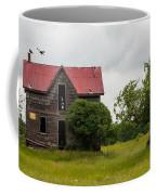 Vultures On A Farmhouse Coffee Mug