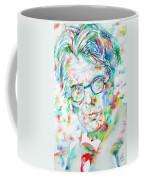 W. B. Yeats  - Watercolor Portrait Coffee Mug