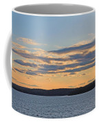 Wachusett Reservoir Sunset Coffee Mug