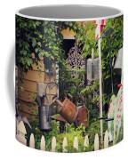 Wacky Watering Can Garden Coffee Mug