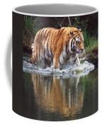 Wading Tiger Coffee Mug