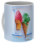 Wafer Or Waffle Cone Coffee Mug