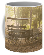 Wagon - Abe's Buggie Coffee Mug by Mike Savad