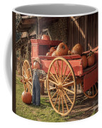 Wagon Full Of Pumpkins Coffee Mug