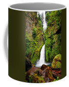 Wahclella Falls In Oregon Coffee Mug