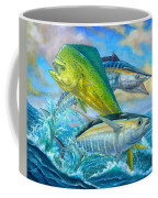 Wahoo Mahi Mahi And Tuna Coffee Mug