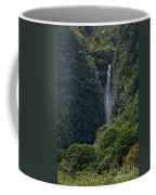 Wailua Stream Waiokane Falls View From Wailua Maui Hawaii Coffee Mug