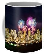 Waikiki Fireworks Celebration 2 Coffee Mug