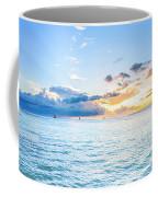 Waikiki Sunset After An Afternoon Thunderstorm Coffee Mug