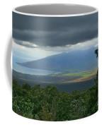 Waipoli Kula View Of West Maui From Haleakala Coffee Mug