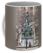 Waiting By Galusha Coffee Mug