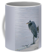 Waiting For A Boat Ride Coffee Mug