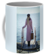 Waiting For A Ship Coffee Mug