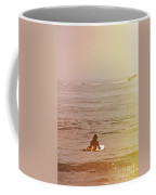 Waiting For A Wave Coffee Mug