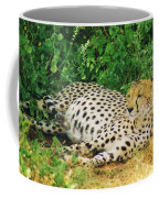 Waiting For Baby Cheetahs Coffee Mug